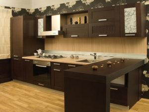 Кухни Альфа-Пик фасад массив