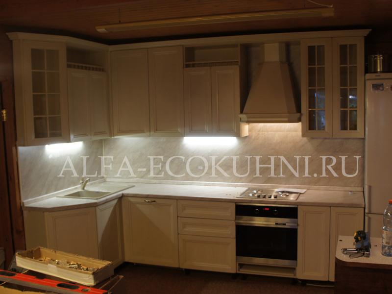 Кухня сицилия массив дуба