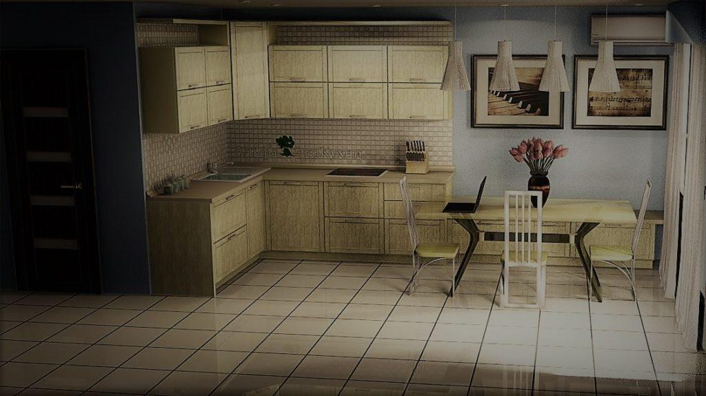 дизайн-проект кухни кальвадос